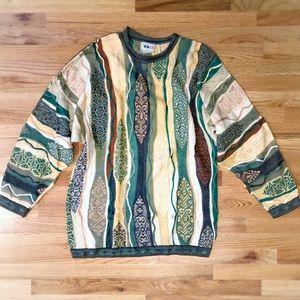 COOGI authentic vintage crewneck knit sweater LT